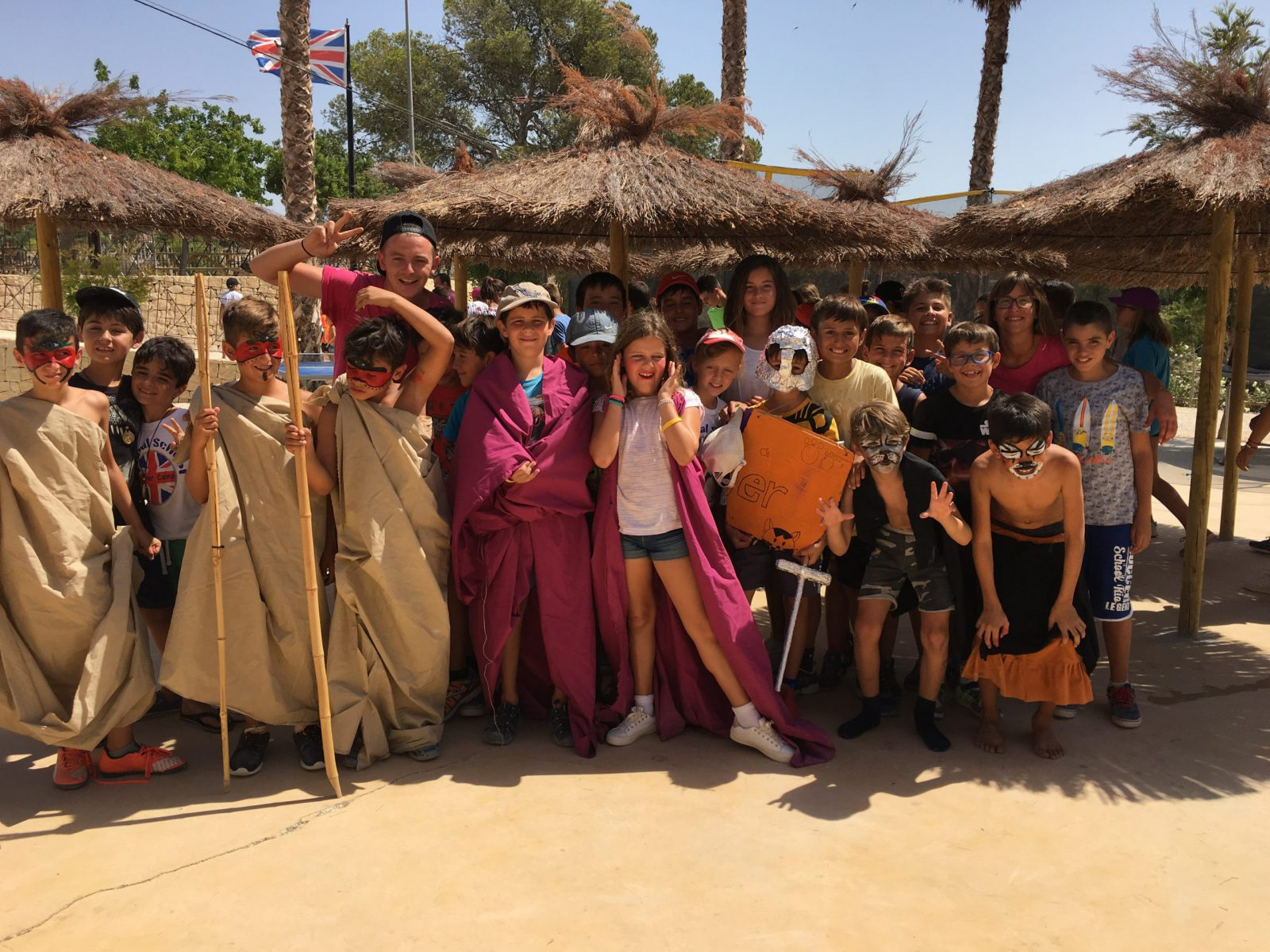 Campamento de verano de multiaventura + inglés