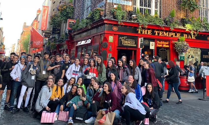 viajes escolares a Irlanda